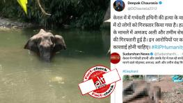 False Claim Viral About Arrest of Amzath Ali and Thamim Shaikh in Kerala Elephant Death Case