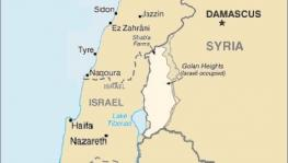 Map showing the occupied Golan Heights. (Photo: Wikimedia)
