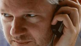 Julian Assange just called. To talk about the pandemic's effect on capitalism & politics!