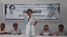 International Secretary of the Socialist Student Front in Bangladesh, Manisha Chakraborty.