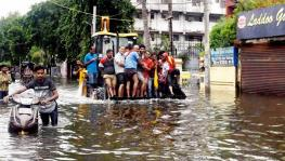 Heavy Waterlogging in Patna Drills