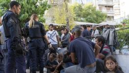 Recently, refugees staged a protest in Athens against their eviction from accommodation facilities.