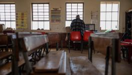 12 April 2018: Kwambenya Senior Primary on the outskirts of Bizana, Eastern Cape. Hundreds of schools in the province will likely not meet the minimum standards for reopening during the Covid-19 lockdown. Photo: Daylin Paul / New Frame