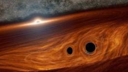 Light From Black Hole Collisions Detected for First Time