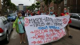 French Health Workers Stage Another Protest Demanding Resources to Save Hospitals