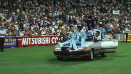 The most famous car in Indian cricket -- the Audi 100 won by Ravi Shastri in 1985