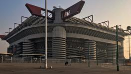 San Siro in Italy, a traditional and one of the most hallowed football stadiums in the world