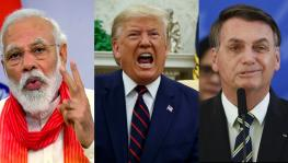 Donald Trump, Jair Bolsonaro and Narendra Modi
