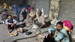 UP: With Starvation Threatening Households