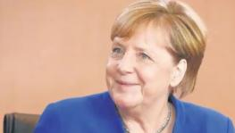 A file photo of German Chancellor Angela Merkel