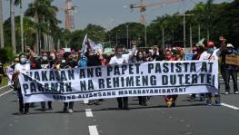 Protesters March in Manila Against New Anti-terror Law, Pandemic Mismanagement