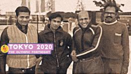 Indian sailors AA Basith, Tehmasp Mogul and Soli Contractor at the 1972 Munich Olympics