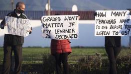 Teachers' Unions Mount Countrywide Campaign to Roll Back School Opening in South Africa