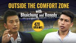 Indian football Bhaichung Bhutia and Renedy Singh