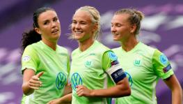Pernille Harder of Vfl Wolfsburg