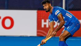Indian hockey team defender Surender Kumar
