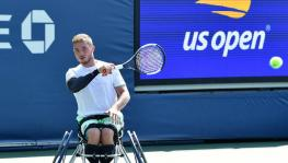 Alfie Hewett, wheelchair tennis at US Open