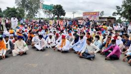 Farmers' protest against the farm bills