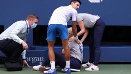 Novak Djokovic at US Open