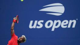 Sumit Nagal at US Open