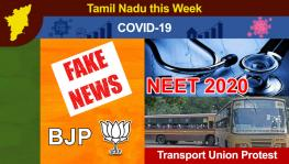 TN this Week: Unlock 4 in State, BJP Leader Paints Clash as Communal, NEET Aspirant Dies by Suicide