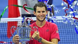 Thiem became the first player born in the 90s to win a Grand Slam and the first outside of the 'Big Three' to do so in four years. (Picture courtesy: US Open/Twitter)