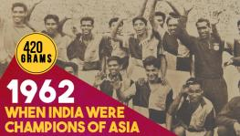 Indian football team's gold medal at 1962 Asian Games