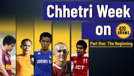 Sunil Chhetri, the early days