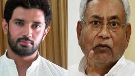 Chirag Paswan, president of the Lok Janshakti Party and Bihar Chief Minister, Nitish Kumar