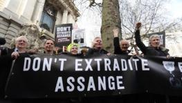 Julian Assange exradition trial