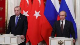 Turkish President Recep Erdogan (L) with Russian President Vladimir Putin (R) File photo