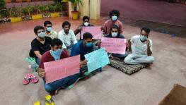 HCU relay hunger strike