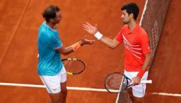 Novak Djokovic vs Rafael Nadal French Open final