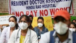Salary Dues: Resident Doctors of NDMC Hospitals Protest at Jantar Mantar