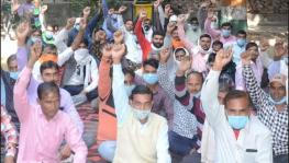 No Salary Since Jan, UPPCL Contract Workers Threaten Indefinite Strike