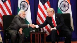 Prime Minister Modi (L) invested presuming eight years of US President Trump (R) in the White House but expectations fall short. (File photo)