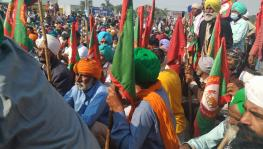 Farmers at Singhu Border on 29th Nov