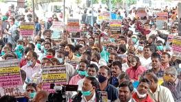 TN electricity employees protest against privatisation