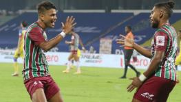 Roy Krishna of ATK Mohun Bagan in the ISL