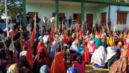 MP tribals protest against alleged assault of farmer