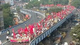 Rally organised against the farm laws in Kolkata