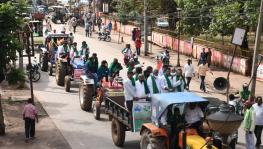 North Karnataka Witnesses Tractor Rally in Support of Farmers' Agitation in Delhi
