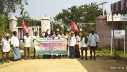 Andhra Pradesh: Anantapur Farmers Protest Against Real Estate on Land Acquired for Industries