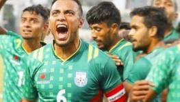 Jamal Bhuyan of Bangladesh football team