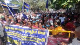 TN: Anganwadi and Mid-Day-Meal Workers Storm Chennai for Long Pending Demands
