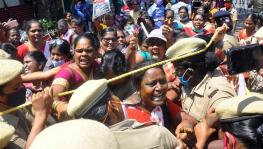 AIDWA protest in TN