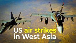 US Airstrikes in West Asia