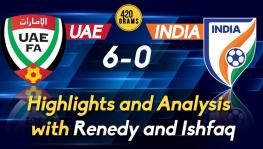 UAE vs India football analysis and highlights