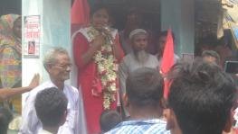 Minakshi Mukherjee, Left Front Candidate from Nandigram