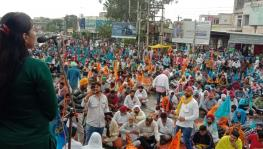 Contract employees flood Patiala streets, demand regularisation of workers